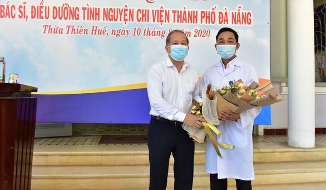 Đoàn y bác sĩ Thừa Thiên Huế ra quân chi viện Đà Nẵng chống Covid-19 - 2
