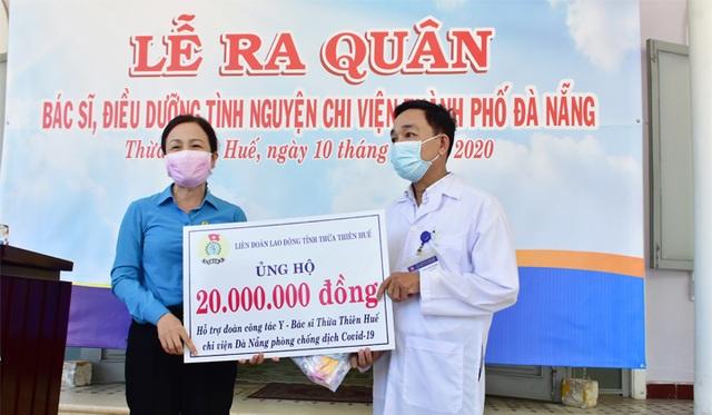 Đoàn y bác sĩ Thừa Thiên Huế ra quân chi viện Đà Nẵng chống Covid-19 - 4