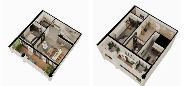 """Căn hộ Duplex Roman Plaza - cuộc sống thượng lưu theo """"chuẩn"""" riêng - 3"""