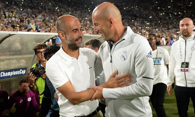 Guardiola chia sẻ đầy tôn trọng về Zidane sau đại chiến ở Champions League - 1