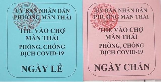 Đà Nẵng phát thẻ hồng, thẻ xanh cho dân đi chợ 3 ngày một lần - 3