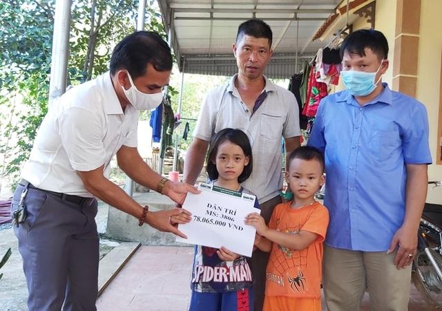 Bạn đọc giúp đỡ 2 đứa trẻ có số phận nghiệt ngã gần 80 triệu đồng - 2