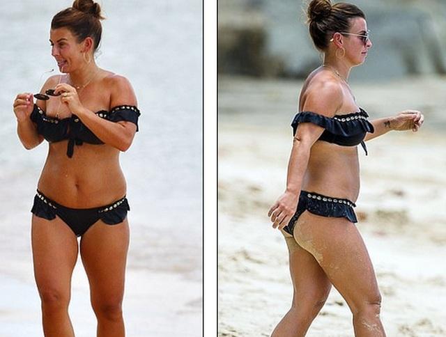 Demi Rose diện áo tắm sặc sỡ khoe thân hình đồng hồ cát - 6