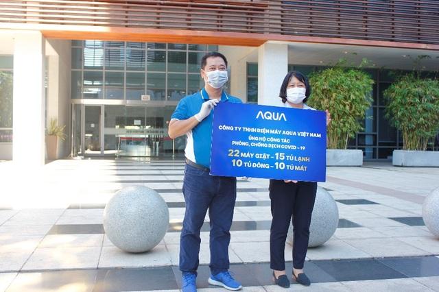 AQUA tiếp sức cho các bệnh viện tại Đà Nẵng - 1