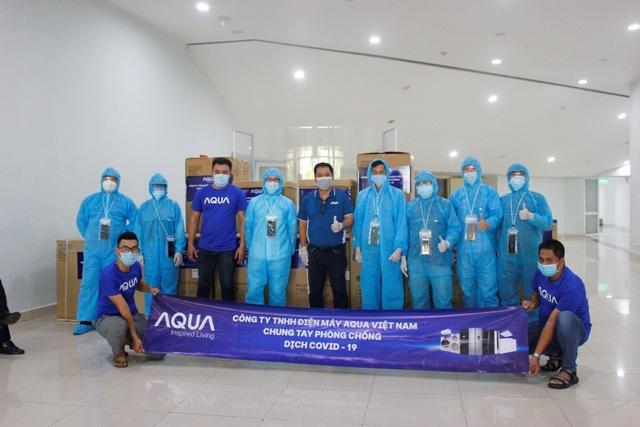 AQUA tiếp sức cho các bệnh viện tại Đà Nẵng - 2