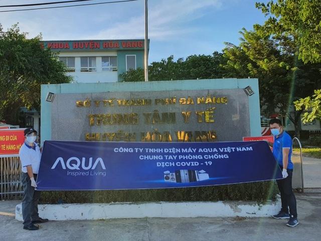 AQUA tiếp sức cho các bệnh viện tại Đà Nẵng - 3