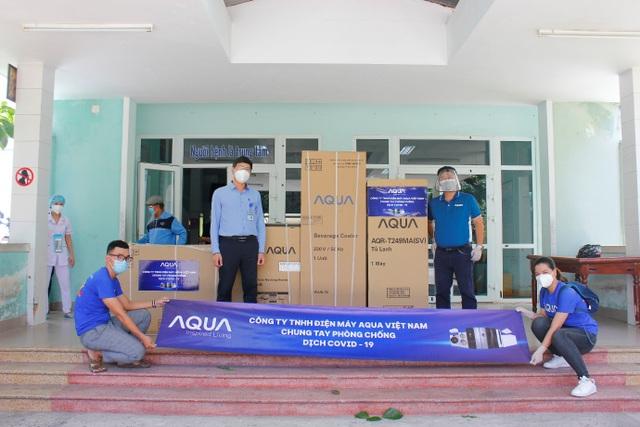 AQUA tiếp sức cho các bệnh viện tại Đà Nẵng - 4