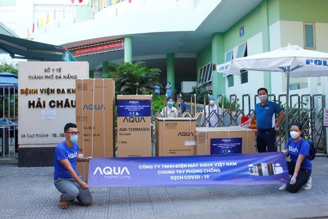 AQUA tiếp sức cho các bệnh viện tại Đà Nẵng - 5