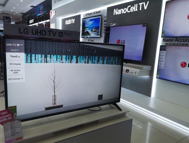 Chú ý khi mua hàng điện tử trưng bày giảm tới 70% so với giá bán mới - 4