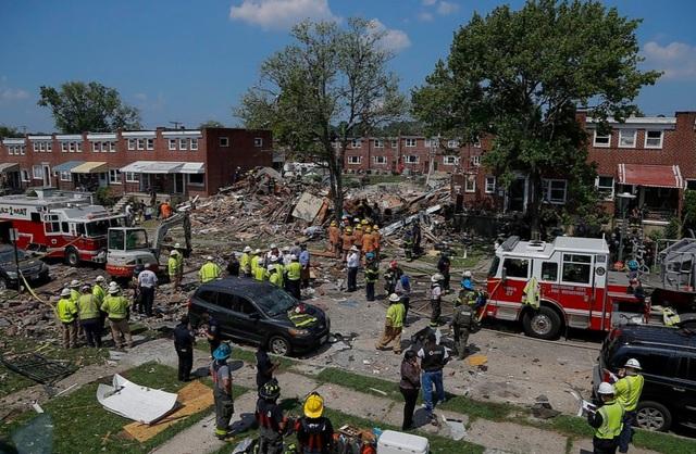 Nổ khí gas ở Mỹ, nhiều ngôi nhà bị san phẳng - 9