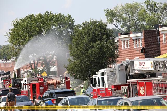 Nổ khí gas ở Mỹ, nhiều ngôi nhà bị san phẳng - 8