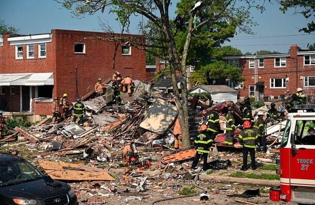 Nổ khí gas ở Mỹ, nhiều ngôi nhà bị san phẳng - 4