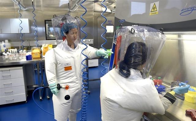 Phòng thí nghiệm gây tranh cãi ở Vũ Hán lần đầu mở cửa cho phóng viên Mỹ - 1