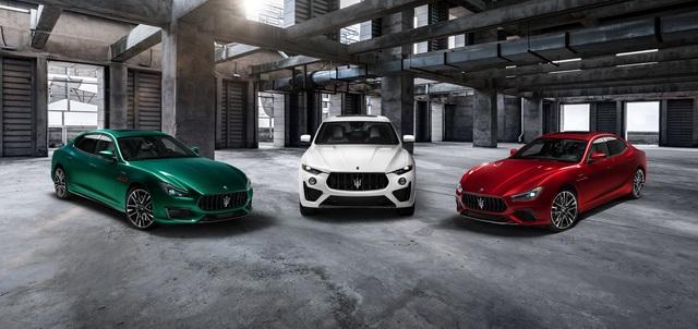 Biệt đội Maserati Trofeo rầm rộ trình làng với động cơ Ferrari V8 - 1