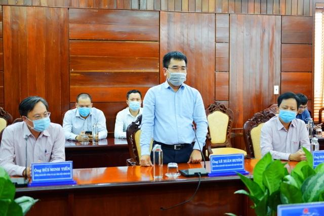 BSR tài trợ tỉnh Quảng Ngãi 2,5 tỷ đồng mua máy xét nghiệm Covid-19 - 1