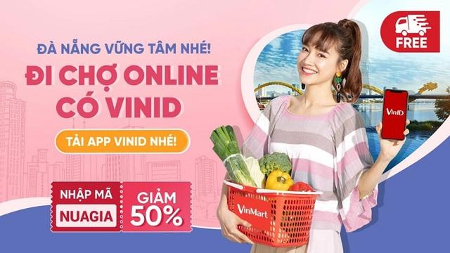 VinID đi siêu thị hộ, giúp người dân Đà Nẵng an tâm mua sắm tại gia trong mùa dịch - 1