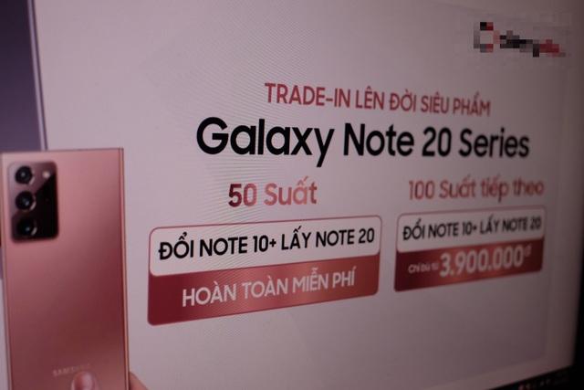 Hệ thống bán lẻ chơi lớn: Đổi miễn phí Galaxy Note 10+ lấy Note 20 - 2