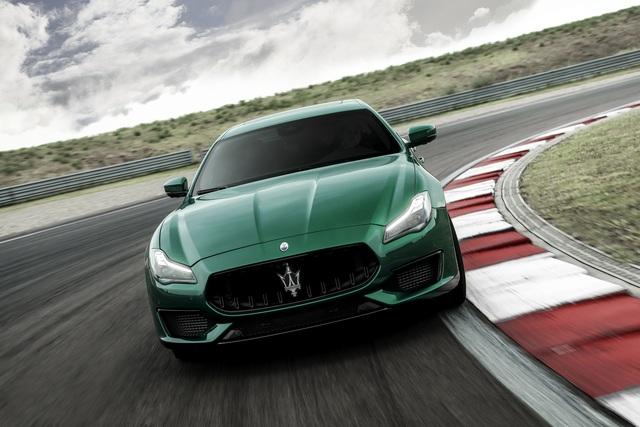 Biệt đội Maserati Trofeo rầm rộ trình làng với động cơ Ferrari V8 - 4