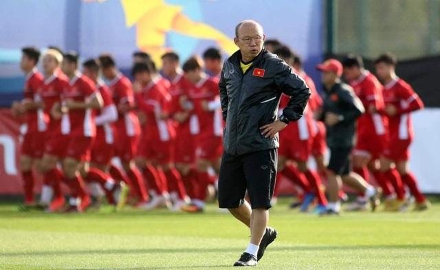 HLV Park Hang Seo đối mặt lịch thi đấu dày đặc trong năm 2021 - 1