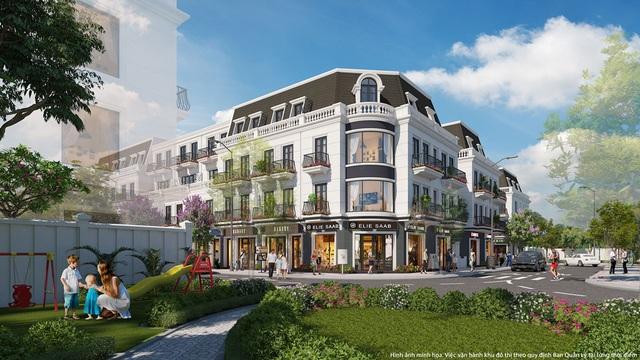 Ra mắt tổ hợp trung tâm thương mại  nhà ở liền kề Thái Hòa - 3