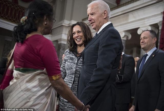 Chân dung phó tướng mang dòng máu lai Ấn-Phi của ông Joe Biden - 7