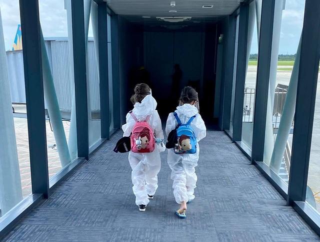 Hồng Nhung và các con đã về nhà sau khi hoàn thành 14 ngày cách ly - 2