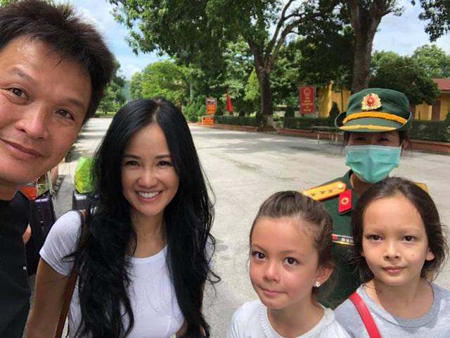Hồng Nhung và các con đã về nhà sau khi hoàn thành 14 ngày cách ly - 3