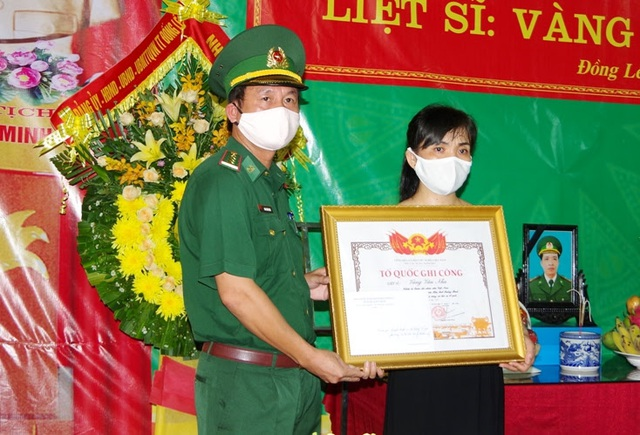 Truy tặng Bằng Tổ quốc ghi công cho liệt sĩ biên phòng tại Quảng Bình - 1