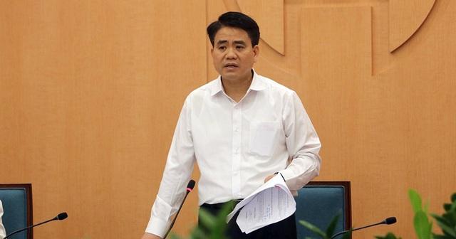 Bộ Chính trị đình chỉ chức vụ Phó Bí thư Hà Nội với ông Nguyễn Đức Chung - 1