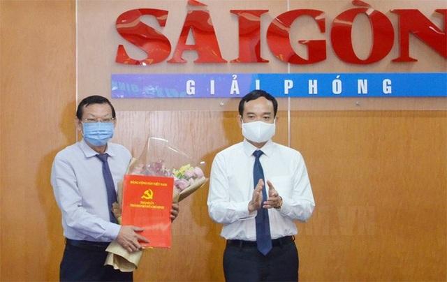 Tổng biên tập Báo Sài Gòn Giải Phóng được điều động về UBND TPHCM - 1