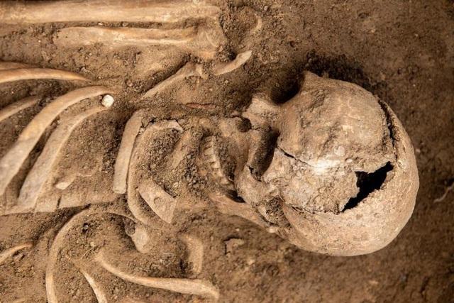 Phát hiện nghĩa địa thời trung cổ còn nguyên vẹn các bộ hài cốt - 5