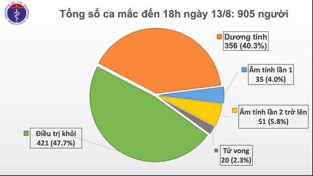 Thêm 22 ca mắc Covid-19 mới, Việt Nam có trên 900 bệnh nhân - 1
