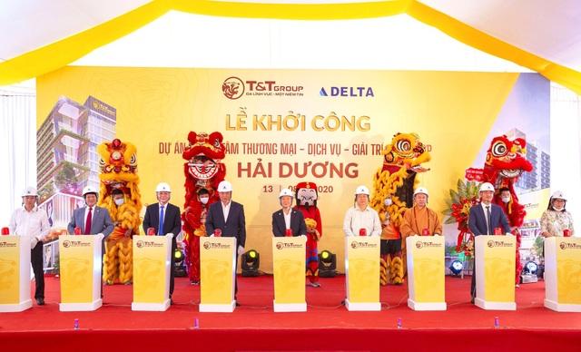 TT Group khởi công xây dựng Trung tâm thương mại tại thành phố Hải Dương - 1