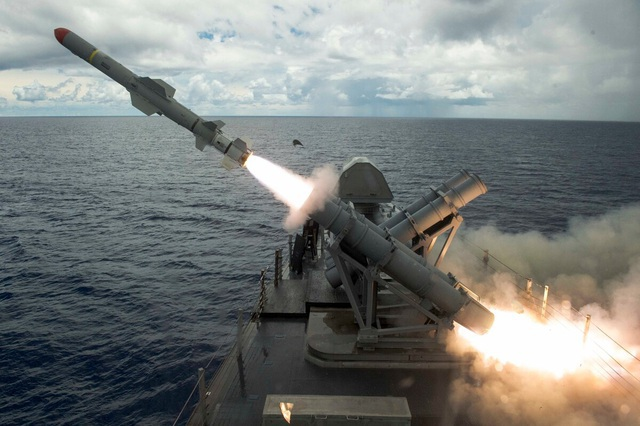 Đài Loan thảo luận mua tên lửa hành trình của Mỹ - 1