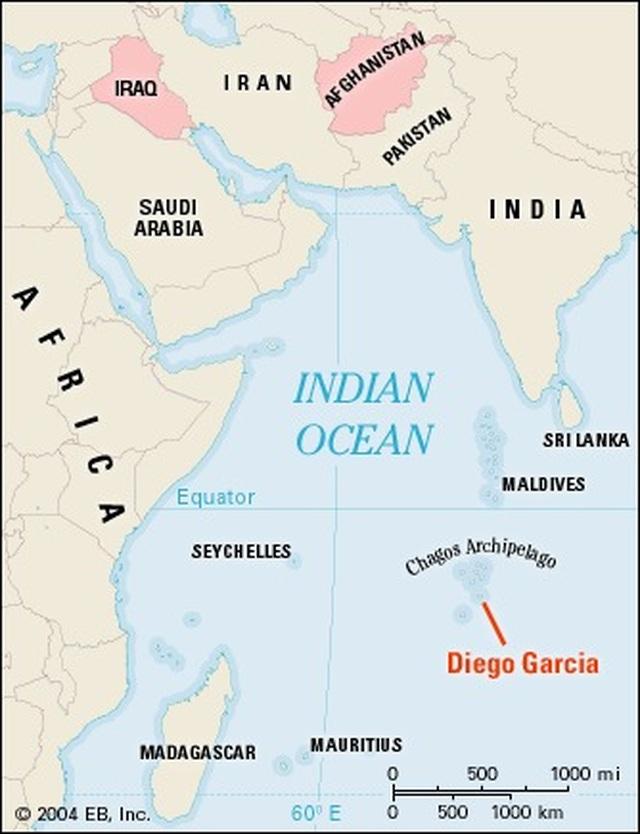 Mỹ điều 3 máy bay ném bom tới Ấn Độ Dương giữa căng thẳng với Trung Quốc - 2