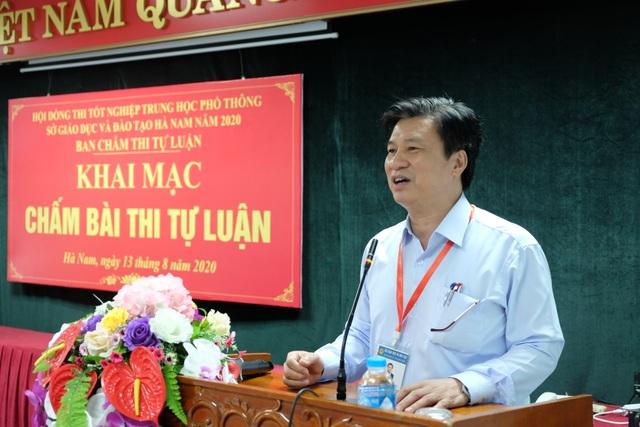 Hà Nam: Dự kiến hoàn thành công tác chấm thi tốt nghiệp THPT ngày 16/8 - 1