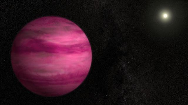 Phát hiện hành tinh có màu hồng kì lạ gần Trái đất - 1