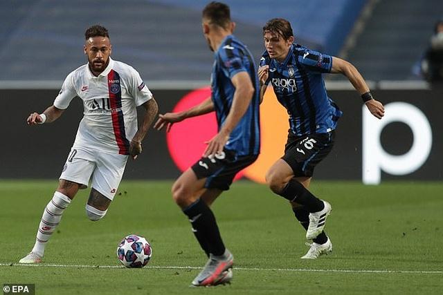 Neymar lập kỷ lục sánh ngang Messi trong ngày PSG hạ Atalanta - 2
