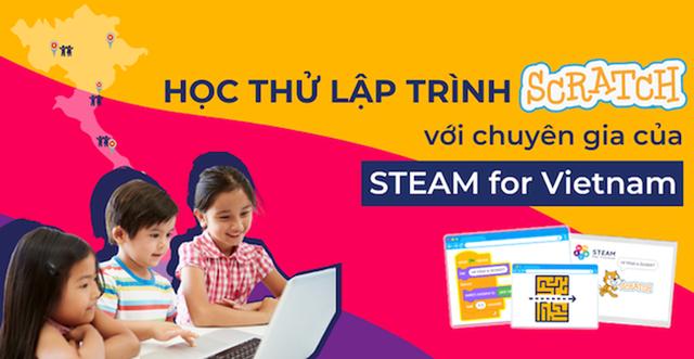 Nhân tài công nghệ quy tụ, dạy lập trình phi lợi nhuận cho trẻ em Việt - 1