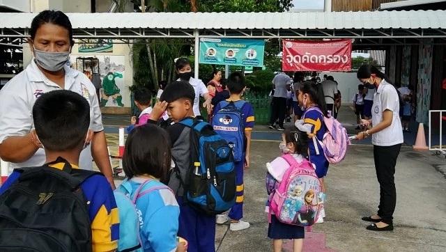 """Trường học Thái Lan tái mở cửa sau 5 tháng """"đóng băng"""" do Covid-19 - 3"""
