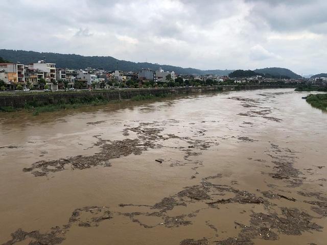 Lũ lớn bất thường xuất hiện trên sông Hồng, sông Chảy - 2