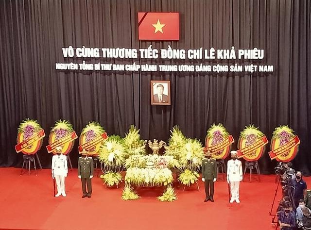 Lễ viếng nguyên Tổng Bí thư Lê Khả Phiêu - 25