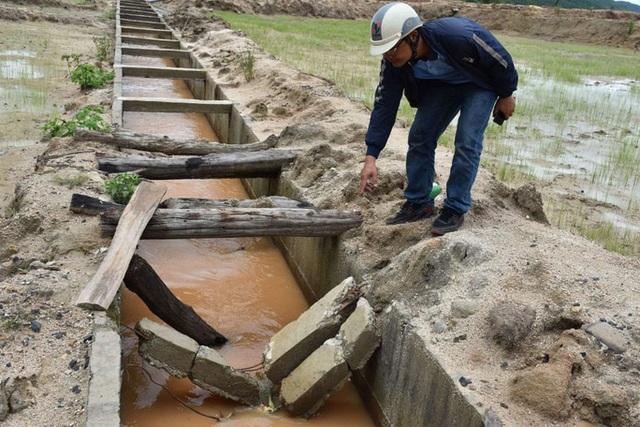 Công trình thủy lợi trăm tỷ chưa bàn giao đã bị hư hỏng tại Gia Lai - 4