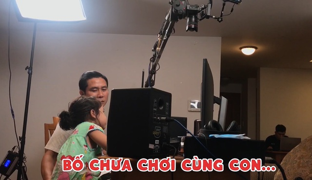 Phản ứng của Hồ Hoài Anh khi bị con gái 4 tuổi trách móc, hờn dỗi - 1