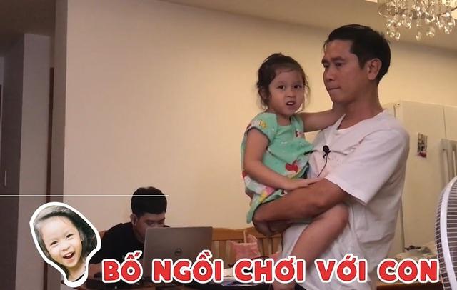 Phản ứng của Hồ Hoài Anh khi bị con gái 4 tuổi trách móc, hờn dỗi - 2