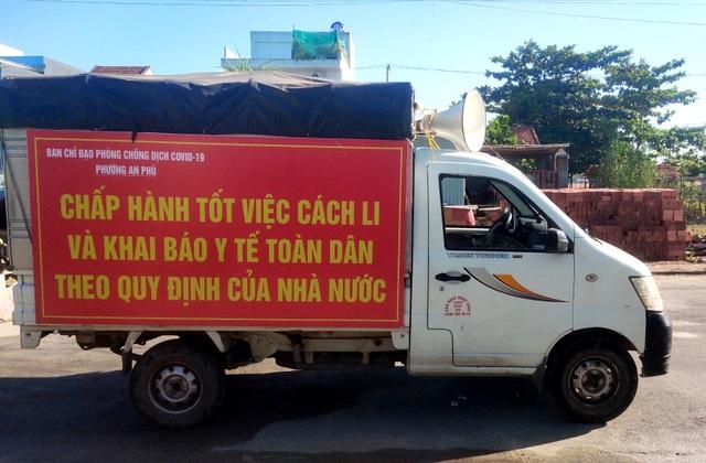 Quảng Nam tăng cường chống dịch cấp độ mạnh - 1