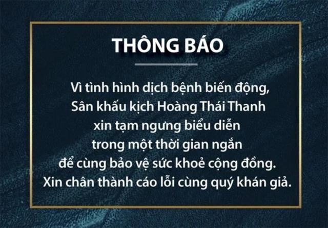 """Sân khấu kịch Sài Gòn """"thấp thỏm"""" theo mùa dịch Covid-19 - 3"""