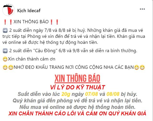 """Sân khấu kịch Sài Gòn """"thấp thỏm"""" theo mùa dịch Covid-19 - 5"""