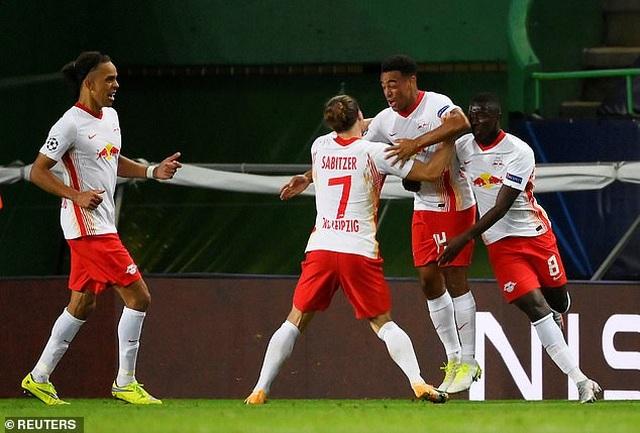 Hạ Atletico, Leipzig lần đầu tiên vào bán kết Champions League - 2