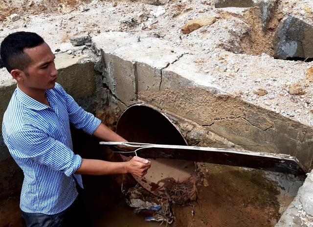 Công trình thủy lợi trăm tỷ chưa bàn giao đã bị hư hỏng tại Gia Lai - 7